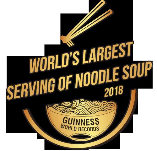 Slovo je největší porce nudlové polévky 2018